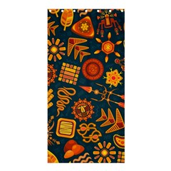 Pattern Background Ethnic Tribal Shower Curtain 36  X 72  (stall)