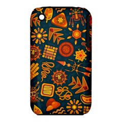 Pattern Background Ethnic Tribal Iphone 3s/3gs by Nexatart