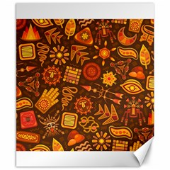 Pattern Background Ethnic Tribal Canvas 8  X 10