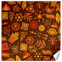 Pattern Background Ethnic Tribal Canvas 16  X 16
