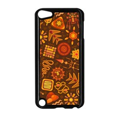 Pattern Background Ethnic Tribal Apple Ipod Touch 5 Case (black) by Nexatart