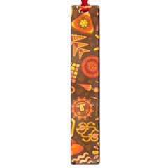 Pattern Background Ethnic Tribal Large Book Marks