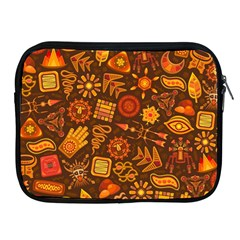 Pattern Background Ethnic Tribal Apple Ipad 2/3/4 Zipper Cases