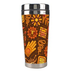 Pattern Background Ethnic Tribal Stainless Steel Travel Tumblers