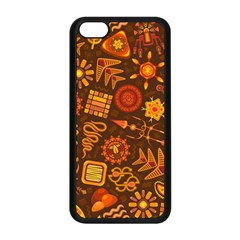 Pattern Background Ethnic Tribal Apple Iphone 5c Seamless Case (black) by Nexatart