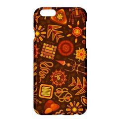 Pattern Background Ethnic Tribal Apple Iphone 6 Plus/6s Plus Hardshell Case by Nexatart