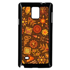 Pattern Background Ethnic Tribal Samsung Galaxy Note 4 Case (black)