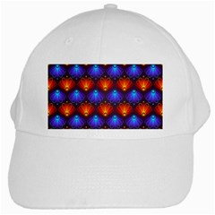 Background Colorful Abstract White Cap by Nexatart