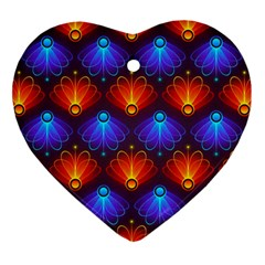 Background Colorful Abstract Ornament (heart)