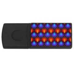 Background Colorful Abstract Rectangular Usb Flash Drive