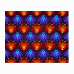 Background Colorful Abstract Small Glasses Cloth (2 Side)