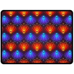 Background Colorful Abstract Fleece Blanket (large)