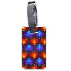 Background Colorful Abstract Luggage Tags (one Side)