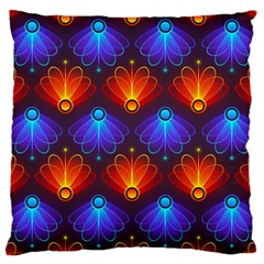 Background Colorful Abstract Large Cushion Case (two Sides)