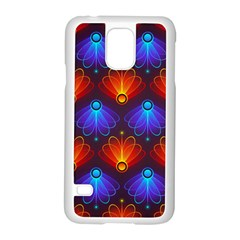 Background Colorful Abstract Samsung Galaxy S5 Case (white)