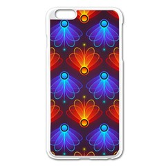 Background Colorful Abstract Apple Iphone 6 Plus/6s Plus Enamel White Case