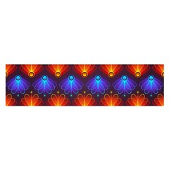 Background Colorful Abstract Satin Scarf (oblong)