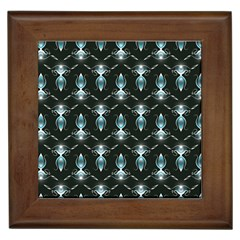 Seamless Pattern Background Framed Tiles