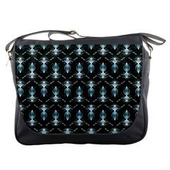 Seamless Pattern Background Messenger Bags