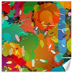 Background Colorful Abstract Canvas 12  X 12