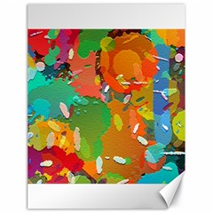 Background Colorful Abstract Canvas 18  X 24