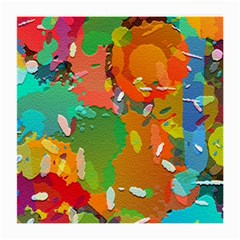 Background Colorful Abstract Medium Glasses Cloth (2 Side)