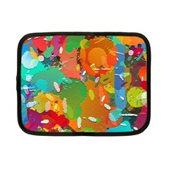 Background Colorful Abstract Netbook Case (small)