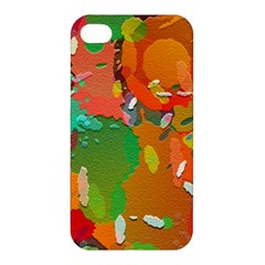 Background Colorful Abstract Apple Iphone 4/4s Hardshell Case