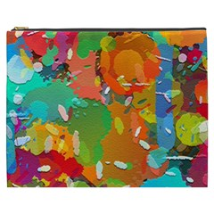 Background Colorful Abstract Cosmetic Bag (xxxl)