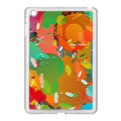 Background Colorful Abstract Apple Ipad Mini Case (white)