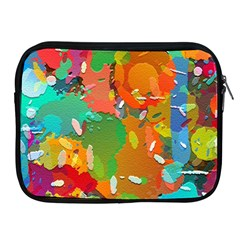 Background Colorful Abstract Apple Ipad 2/3/4 Zipper Cases