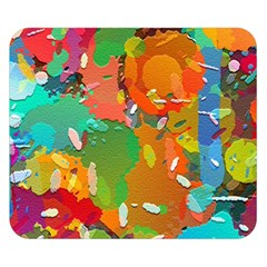 Background Colorful Abstract Double Sided Flano Blanket (small)  by Nexatart