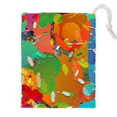 Background Colorful Abstract Drawstring Pouches (xxl)