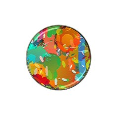 Background Colorful Abstract Hat Clip Ball Marker