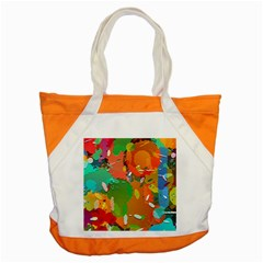 Background Colorful Abstract Accent Tote Bag by Nexatart