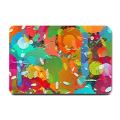 Background Colorful Abstract Small Doormat