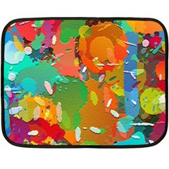Background Colorful Abstract Fleece Blanket (mini)