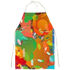 Background Colorful Abstract Full Print Aprons