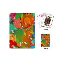 Background Colorful Abstract Playing Cards (mini)