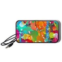 Background Colorful Abstract Portable Speaker
