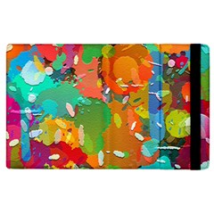 Background Colorful Abstract Apple Ipad 3/4 Flip Case