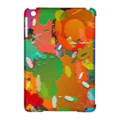 Background Colorful Abstract Apple Ipad Mini Hardshell Case (compatible With Smart Cover)