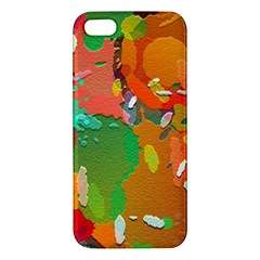 Background Colorful Abstract Apple Iphone 5 Premium Hardshell Case by Nexatart