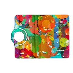 Background Colorful Abstract Kindle Fire Hd (2013) Flip 360 Case