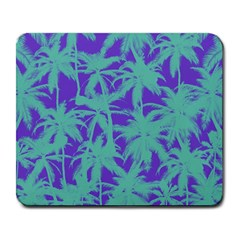 Electric Palm Tree Large Mousepads by jumpercat