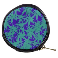 Electric Palm Tree Mini Makeup Bags by jumpercat