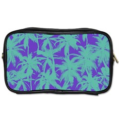 Electric Palm Tree Toiletries Bags by jumpercat