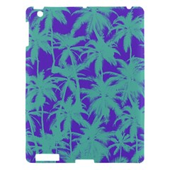 Electric Palm Tree Apple Ipad 3/4 Hardshell Case by jumpercat