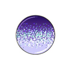 Purple Disintegrate Hat Clip Ball Marker by jumpercat