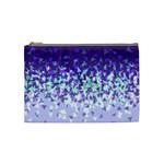 Purple Disintegrate Cosmetic Bag (Medium)  Front